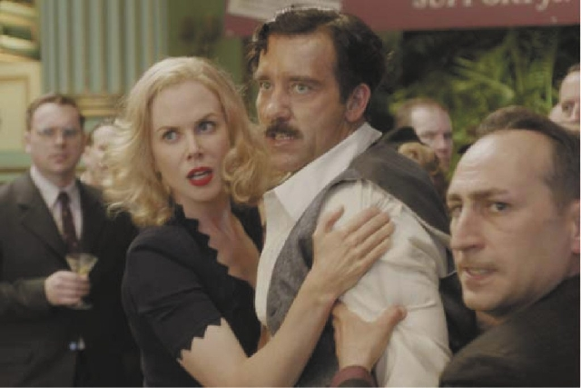 "Clive Owen and Nicole Kidman star in the drama ""Hemingway & Gellhorn."""