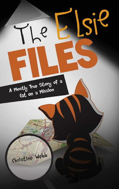 "Christine Webb's kitten's mysterious ways inspired her to write ""The Elsie Files: A Mostly True Story of a Cat on a Mission."""