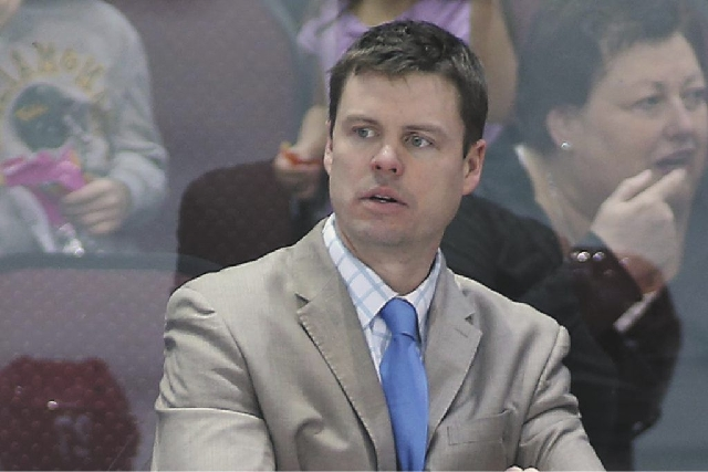 Ryan Mougenel coached the Wranglers for four seasons, leading the team to the Kelly Cup Finals in 2012.