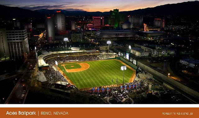 The Reno ballpark is one that is being used as a model for a ballpark in Summerlin. The future owner of the Las Vegas 51s says he will lobby officials for help building a new $65 million ballpark  ...