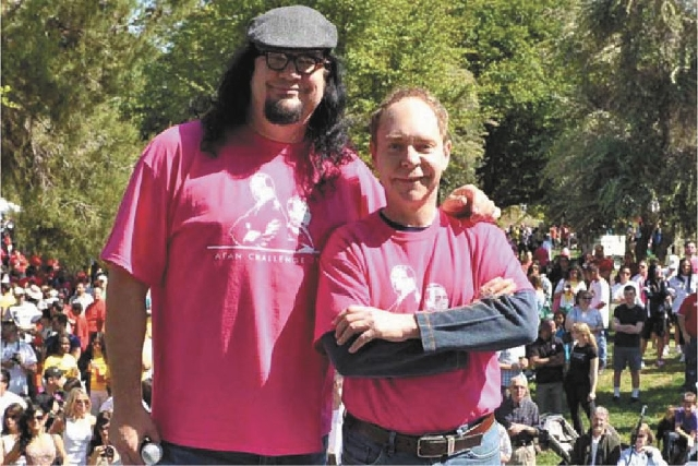 """Rio headliners Penn & Teller will serve as grand marshals for the 12th year in a row Sunday at UNLV's """"AIDS Walk."""""""