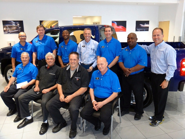 Henderson Chevy Fairway Staff Honored Las Vegas Review Journal