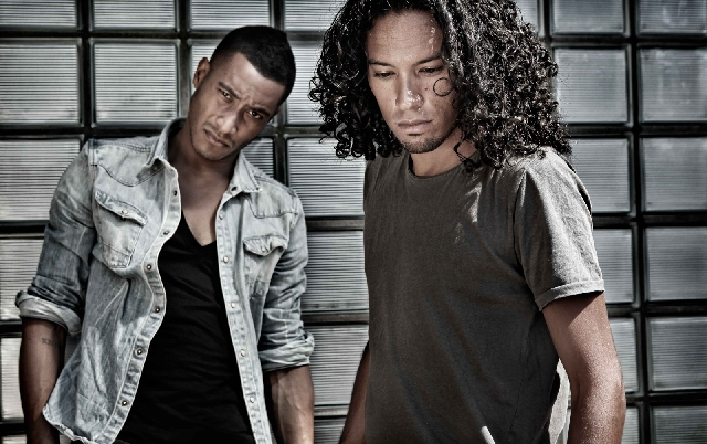 As Dutchmen, Sunnery James, left, and DJ partner Ryan Marciano have an affinity for soccer. James says the game has influenced his DJ-booth dancing.