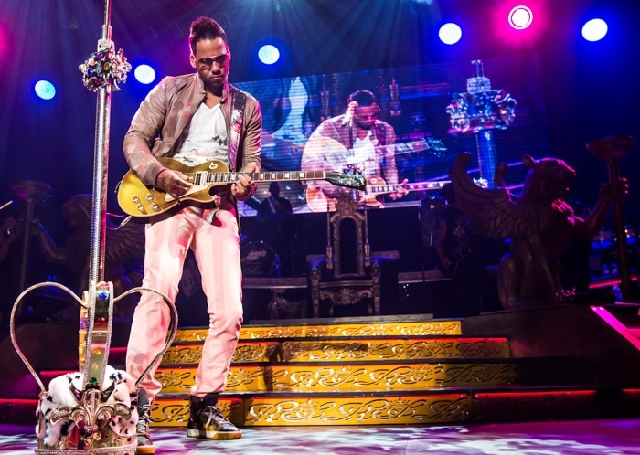 Hit-maker Romeo Santos performed Sunday at the Hard Rock Hotel.