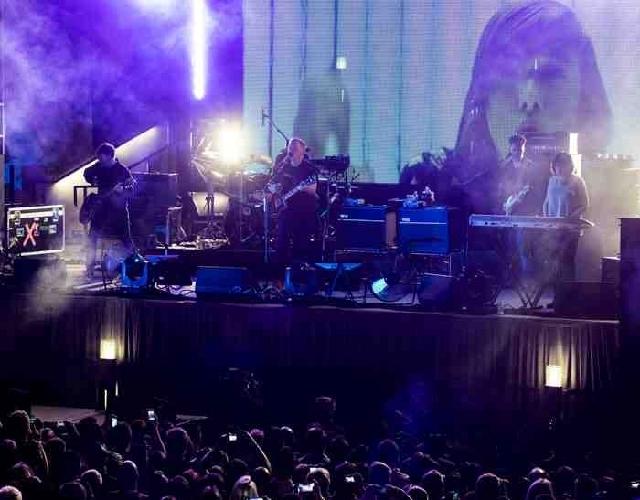 New Order performed Thursday at The Cosmopolitan of Las Vegas.