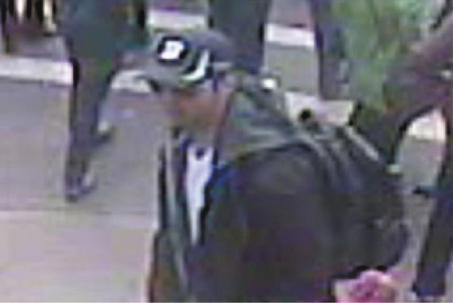 This man is being sought as a suspect in the bombing at the Bostom Marathon.