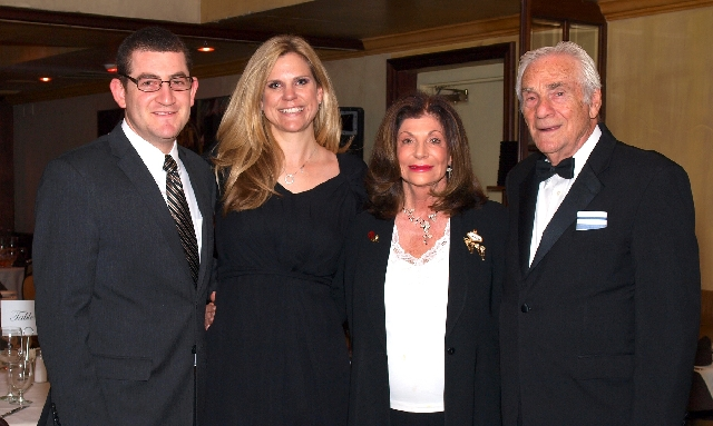 Sam Berkley, from left, Lela Ripamonti, Shelley Berkley and George Levine at the Nevada Opera Theatre party
