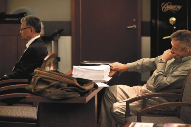 Dr. Dipak Desai, left, and nurse anesthetist Ronald Lakeman were in court Monday for jury selection in their criminal trial stemming from the 2007 hepatitis C outbreak. Tuesday, Judge Valerie Adai ...