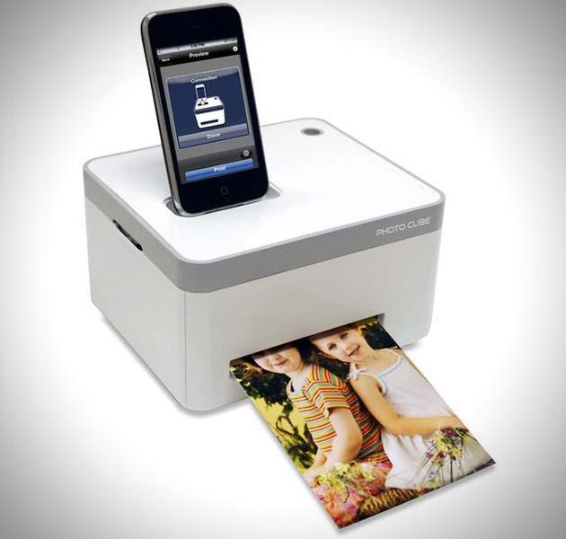 iPhone photo printer,