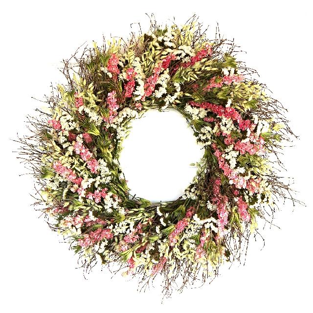Spring garden wreath,
