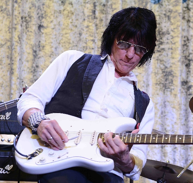 Jeff Beck hosted Rock 'n' Roll Fantasy Camp on Saturday.