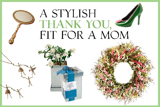 Check out these gift ideas for Mother's Day.