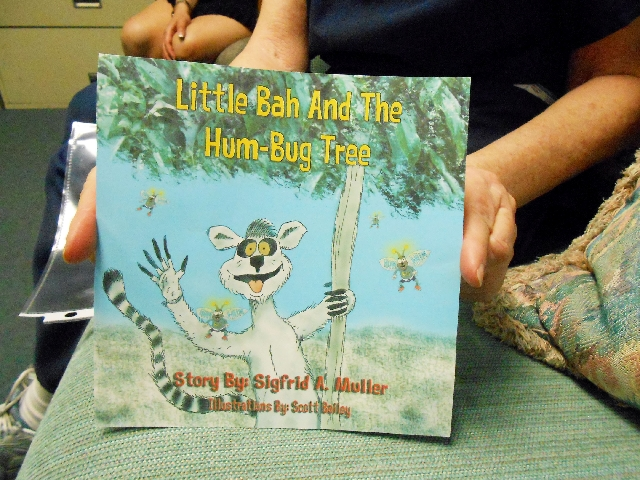 """Dr. Sigfrid Muller is hoping retirement will provide him with more time to work on his children's book """"Little Bah And the Hum-Bug Tree."""""""