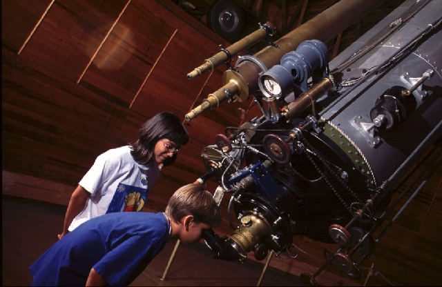 The Clark Telescope at Lowell Observatory in Flagstaff, Ariz., was built in 1896 and is still in use.