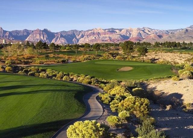 Angel Park Golf Course in Las Vegas.