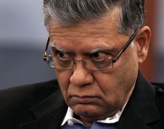Dr. Dipak Desai is shown during his competency hearing at Regional Justice Center on Friday, Jan. 27, 2012.