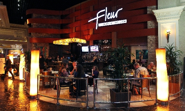Patrons dine at Fleur at Mandalay Bay. The restaurant is known for doing tapas particularly well.
