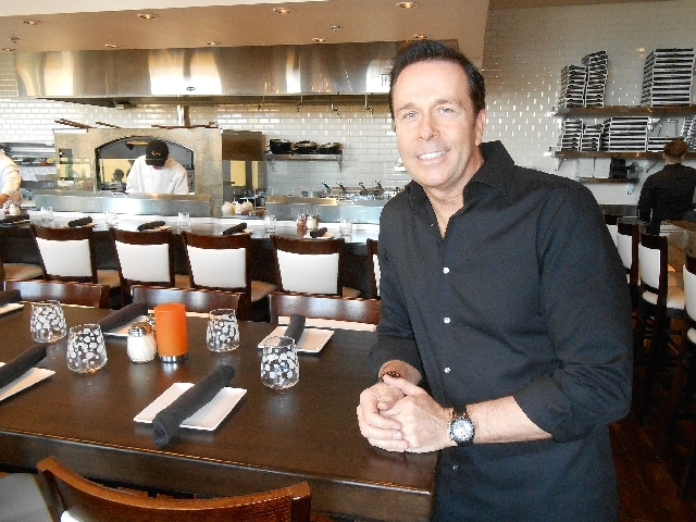 Pizza Lounge co-owner Ken Henderson talks about the concept for the Tivoli Village eatery, which originated in Southern California. The Las Vegas version at 402 S. Rampart Blvd., Suite 120, featur ...