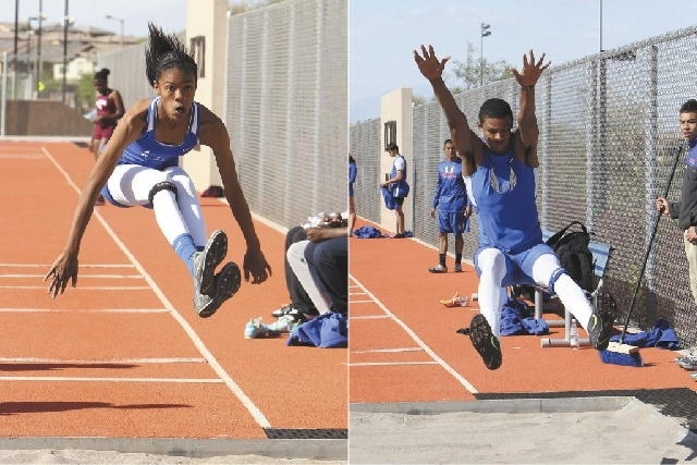 Bishop Gorman siblings Randall and Vashti Cunningham could threaten state records in the high jump.