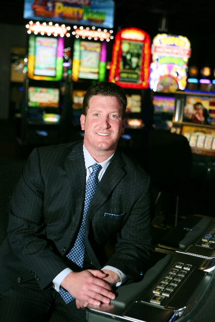 Rob Bone, senior vice president of sales and marketing at WMS, says the slot machine industry is more competitive now than ever before.