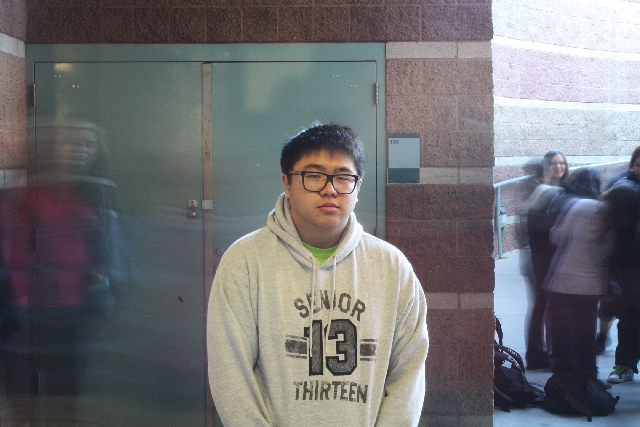 Janmark Camins, a senior at Centennial High School, strives to make Key Club fun for its members, who serve the community.