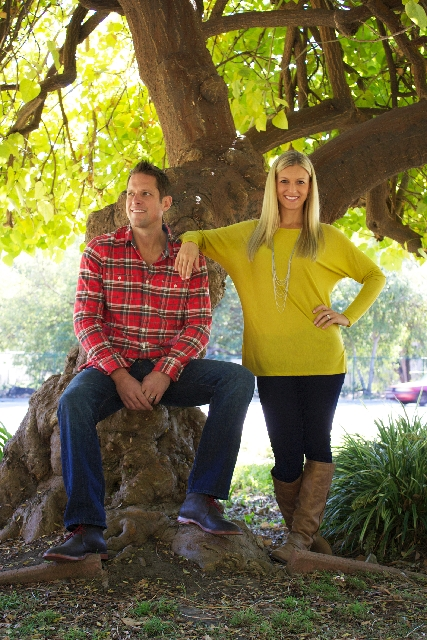 "Landscaper Chris Lambton is joined by his wife, Peyton, on HGTV's ""Going Yard,"" where they transform challenged and neglected yards into fun and functional spaces."