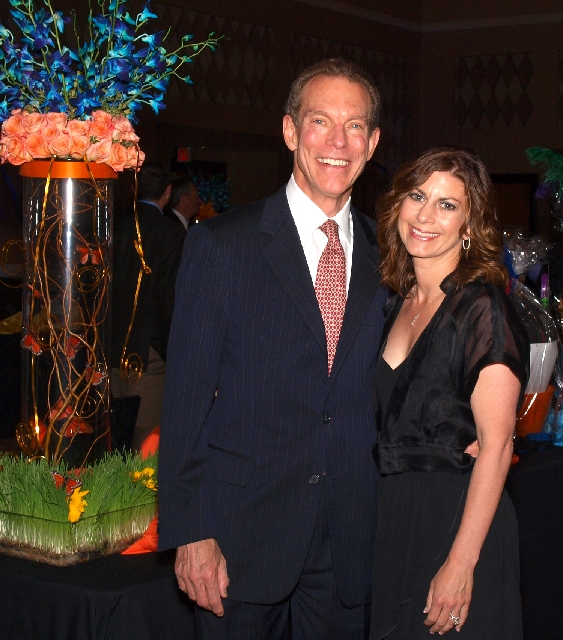 Michael and Renee Yackira at the CSN Foundation gala