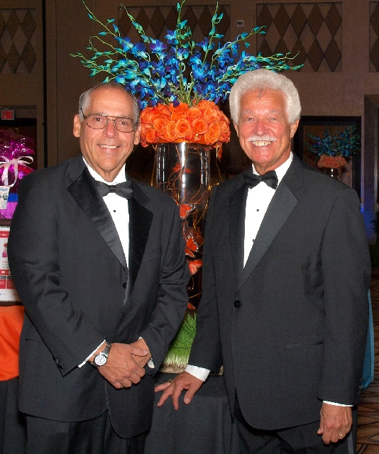 Joseph Quagliano, left, and Dennis Soukup at the CSN Foundation gala