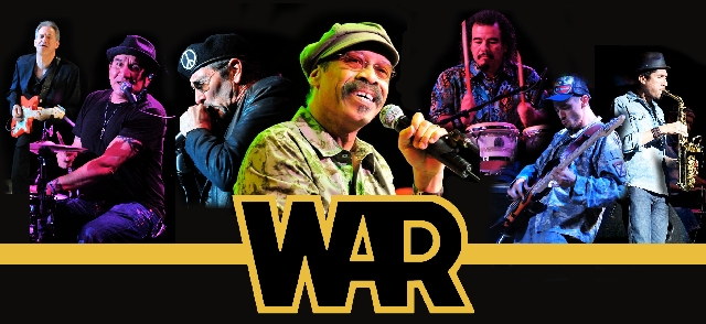 War is scheduled to perform at 8:30 p.m. Saturday at the Eastside Cannery, 5255 Boulder Highway.