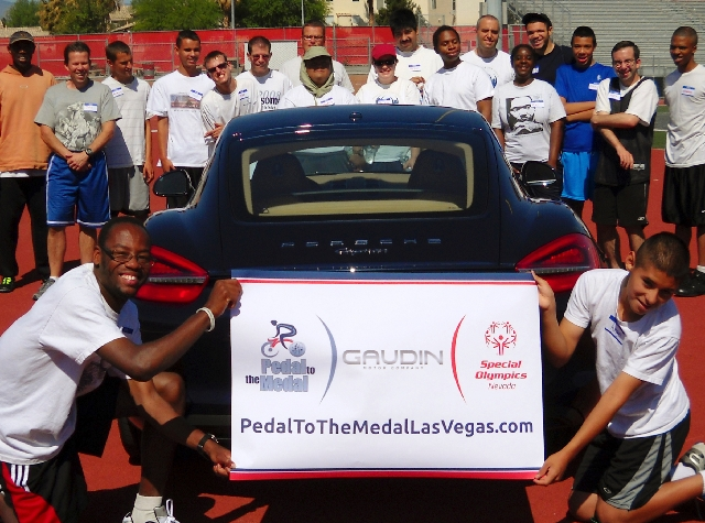 Gaudin Porsche is a sponsor for the Special Olympic's Pedal to the Medal bike ride.
