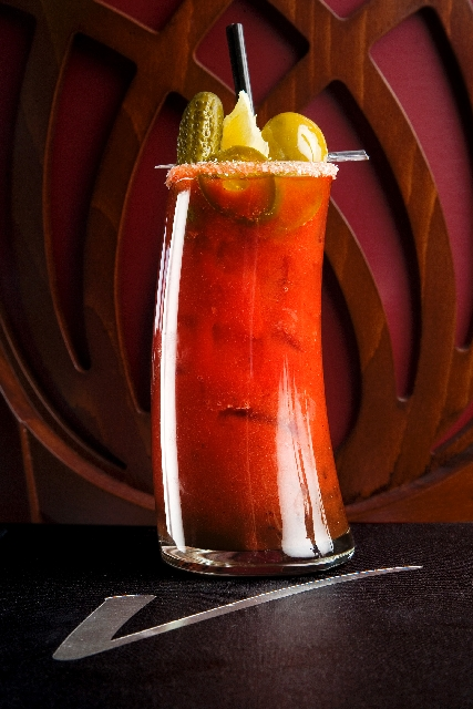 "Spicy Red Head at Vic's New American Cuisine, 2450 Hampton Road in Henderson, is named for Vic ""Vegas"" Moea's own mom. It contains jalapeno vodka, cucumber gin, Lillet Blanc, Zing Zang bloody mary ..."