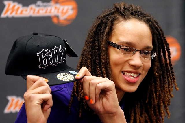 Phoenix Mercury's Brittney Griner, the No. 1 overall pick the WNBA draft, is pictured. Just days after Griner came out as a lesbian, sportswear company Nike Inc. announced a deal with her who will ...