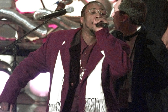 This Feb. 25, 1998, file photo shows Ol' Dirty Bastard of the Wu Tang Clan, whose legal name is Russell Jones, performing at Radio City Music Hall in New York. The culture that in the 1990s lost i ...