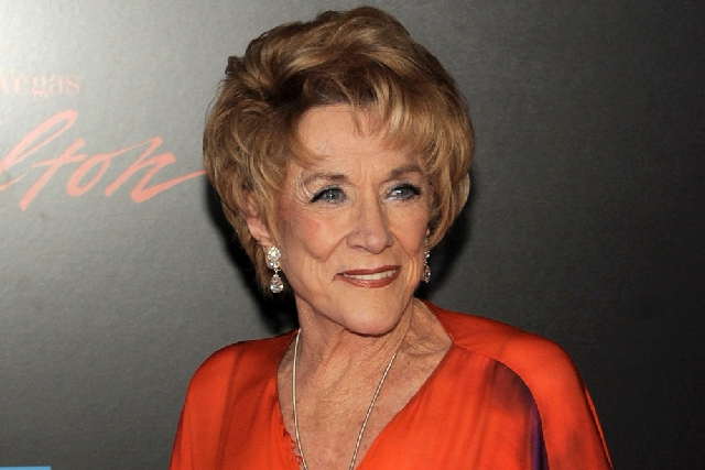 """Actress Jeanne Cooper has died. She was 84.  Cooper played grande dame Katherine Chancellor on CBS' """"The Young and the Restless"""" for nearly four decades."""