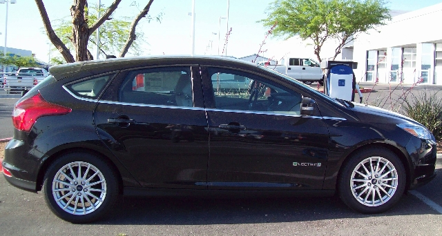 The Ford Focus Electric can now be recharged at Gaudin Ford.