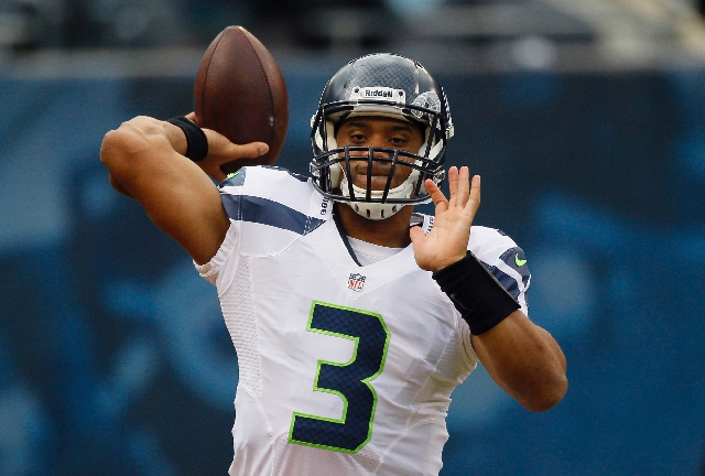 As a rookie last season, quarterback Russell Wilson led the Seahawks to an 11-5 record straight up and against the spread. Cantor Gaming lists Seattle as an underdog in just one of its first 15 re ...