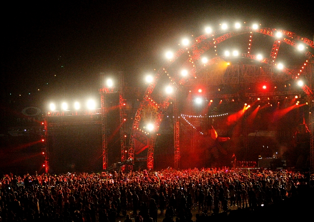 Thousands attend the Chase & Status show during the third night of the Electric Daisy Carnival at the Las Vegas Motor Speedway on Sunday, June 10, 2012.  Under Assembly Bill 498, an 8 percent tax  ...