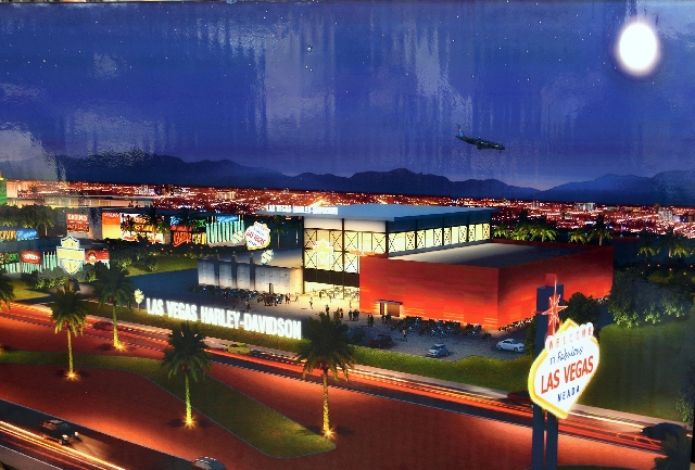 harley-davidson plans $18 million strip dealership – las vegas