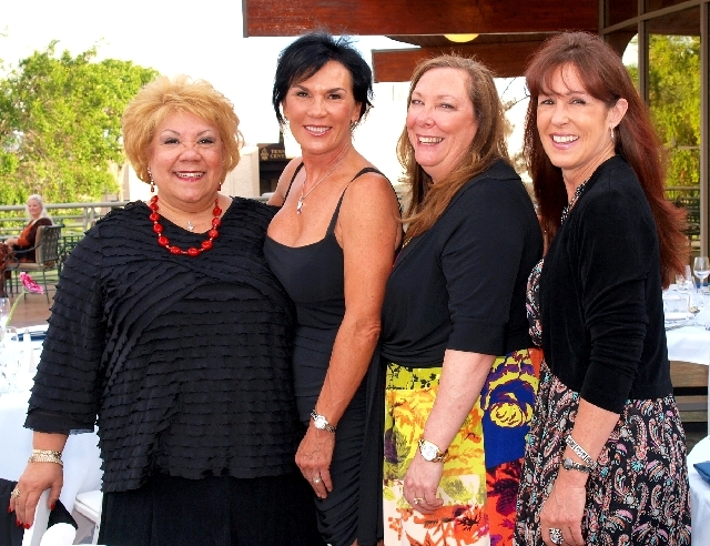 Anita Laruy, from left, Nancy Johnson, Cathy Story and Susan Olson