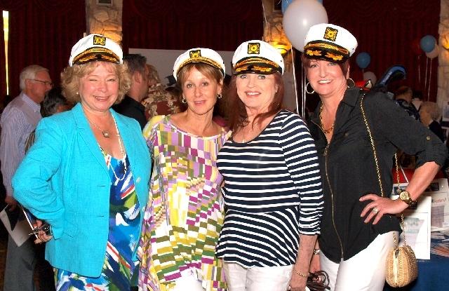 Allison Newlon Moser, from left, Annette Kinsman, Pamela Lawson and Jeanette Williams