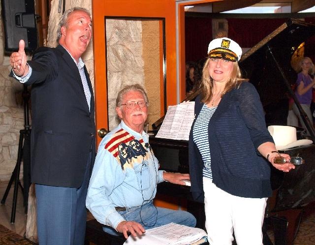 Tim Quillin, from left, Lonnie Hammargren and Diane Zapach