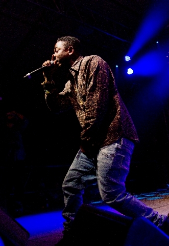 Rapper Kendrick Lamar is scheduled to perform a pool show Wednesday at The Cosmopolitan of Las Vegas.