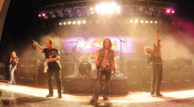 Ratt rocked the Henderson Pavilion on Saturday.