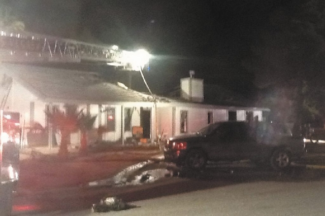 An early morning fire destroyed a home near Alexander and Cimarron roads, displacing the family of six.