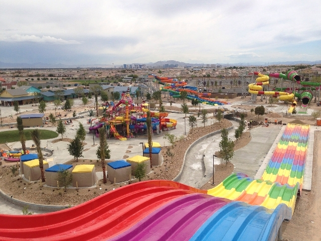 Wet 'n' Wild Las Vegas, in the southwestern most region of Summerlin, opens to the public later this month.