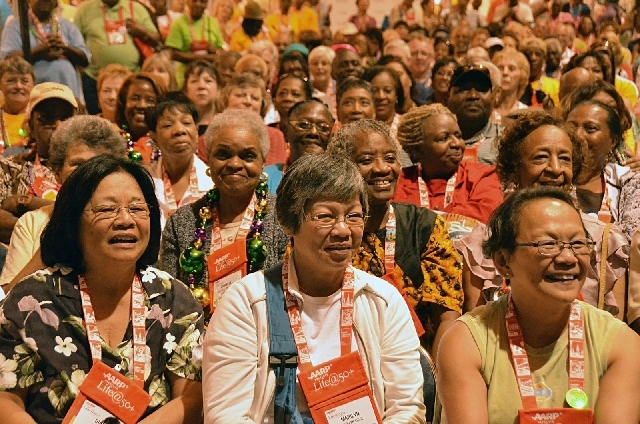 The AARP's Life@50+ convention and expo kicks off at the Las Vegas Convention Center Thursday.