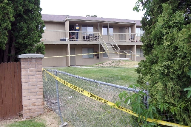 A Boise, Idaho apartment complex was the scene of a search on Thursday afternoon following the arrest of a man from Uzbekistan accused of conspiring with a designated terrorist organization in his ...