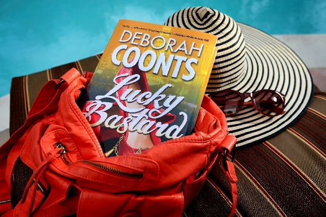 """Lucky Bastard,"" the latest book by Las Vegas author Deborah Coonts, blends mystery and comedy at a fictional Las Vegas megaresort."