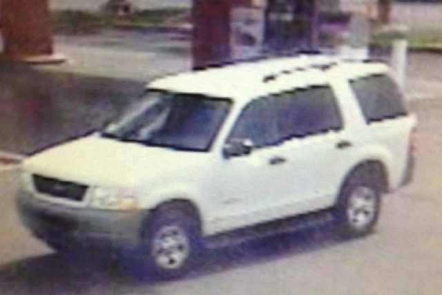 Police have identified a white 2008-2010 Ford Explorer or Expedition as a vehicle of interest in a case where a teen was run over after an attempted robbery.