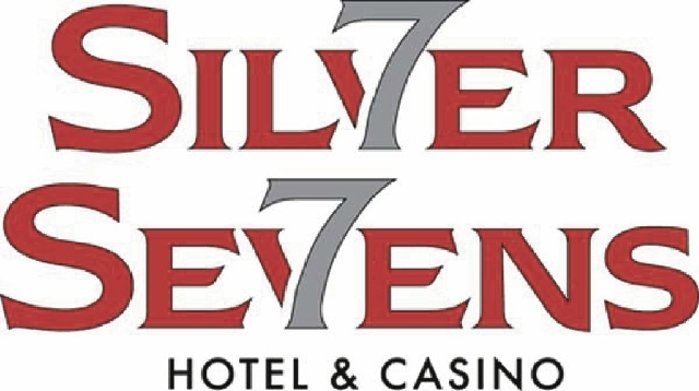 Logo for the Silver Sevens Hotel & Casino